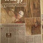 Nemzeti Sport újságban rólunk írtak